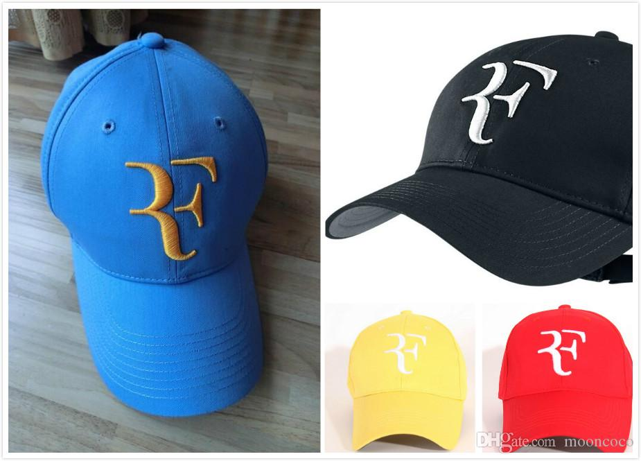 Hat Wholesale Drop Shipping Classic High Quality Newest Foreign Trade  Fashion Tennis Cap Roger Federer RF Tennis Tennis HatS 2018 NEW Cap Store  Custom ... acaf69b7e5e