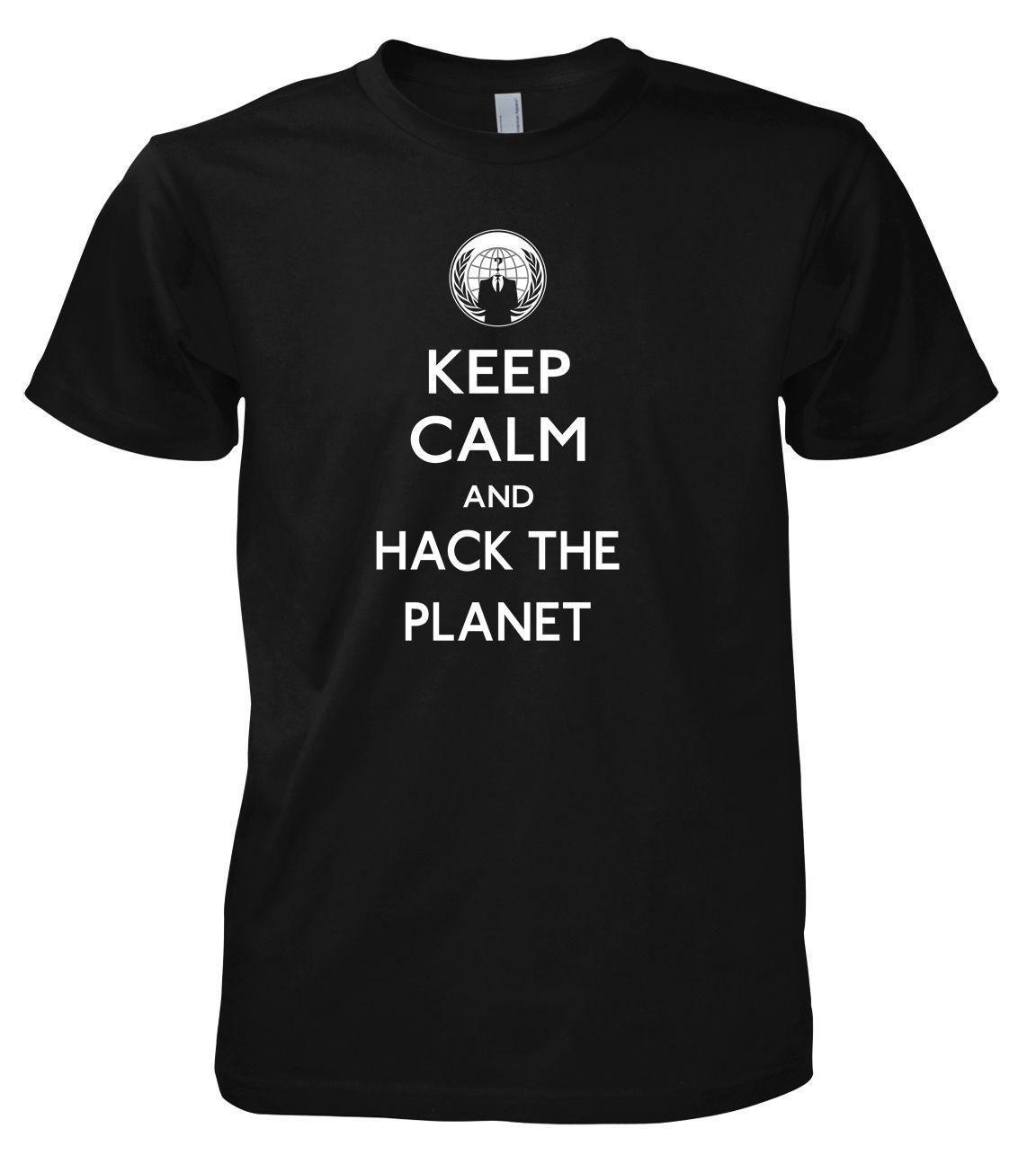 3afcb69ff Smanettone Anonymous Hack Il Planet T Shirt Design Shirts Cool Tshirts From  Linnan0004, $14.67| DHgate.Com