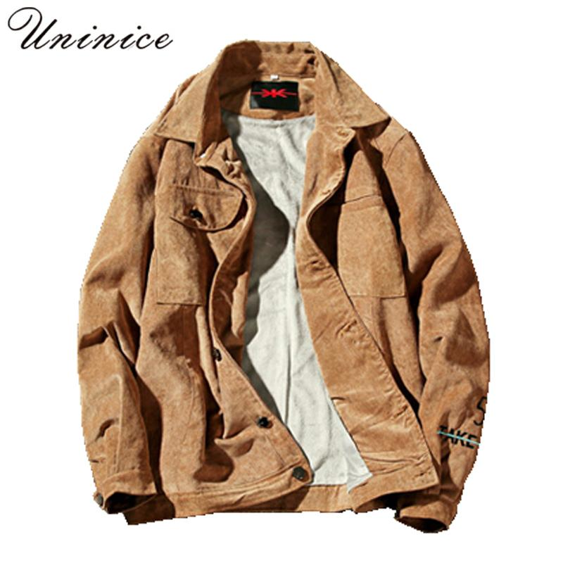 07f50ab8fad1b 2018 New Men S Plus Size 5XL Spring Autumn Corduroy Jacket Male Plus Velvet  Super Warm Moto Punk Hip Hop Teenager Jacket Coats Corduroy Jacket Men  Coats ...