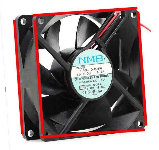 NMB 8025 DC12V 3110KL-04W-B10 Ventilateur 3110KL-04W-B20 3110KL-04W-B30 3110KL-04W-B40 3110KL-04W-B50 3110KL-04W-B60 3110KL-04W-B70