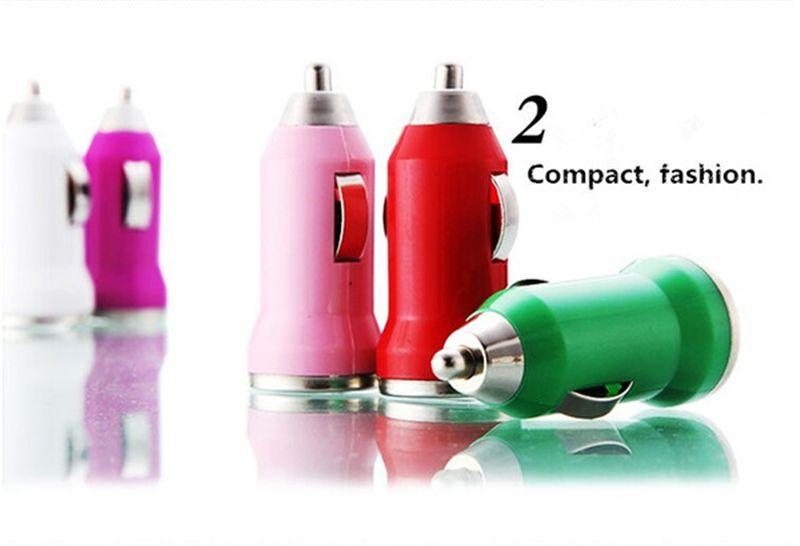 Für IphoneX buntes USB-Auto-Aufladeeinheits-buntes Kugel-Miniauto-Aufladungs-tragbares Ladegerät Universal-Adapter für Samsung S8 S9