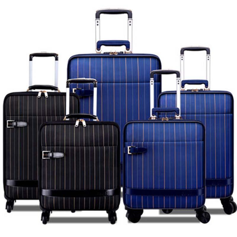 466701288468 Business Rolling Luggage Spinner Suitcase Wheels Oxford ...