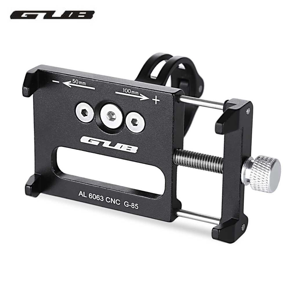 2019 GUB G 85 Aluminum Alloy MTB Bicycle Phone Holder Support GPS