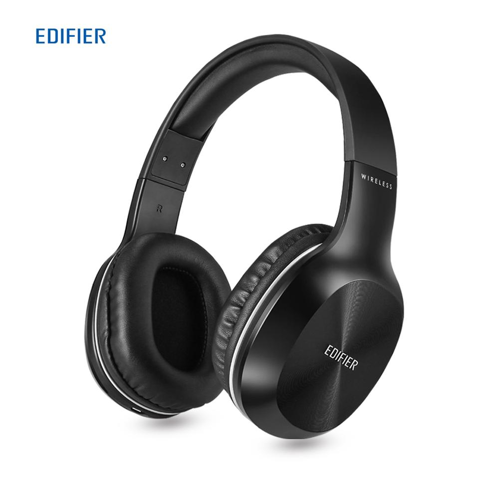 EDIFIER W806BT On Ear Stereo Music Headband Headset 70 Hours Playtime With Built In Microphone Bluetooth Wireless Earphones Handsfree