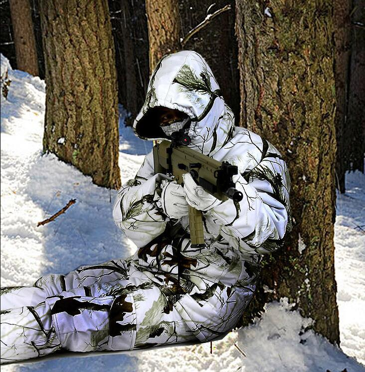 365f85aac3313 2019 TPRPST Winter Waterproof Breathable Snow Camouflage Hunting Suits Ski  Suit Thick Warm Bionic Camouflage Clothing From Hcaihong, $169.5 |  DHgate.Com