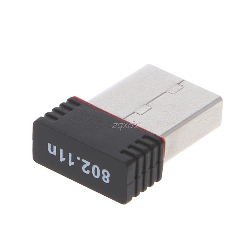 Ralink RT5370 150Mbps Wireless LAN Adapter Networking Card 802.11 b/g/n 2.4GHz Z09