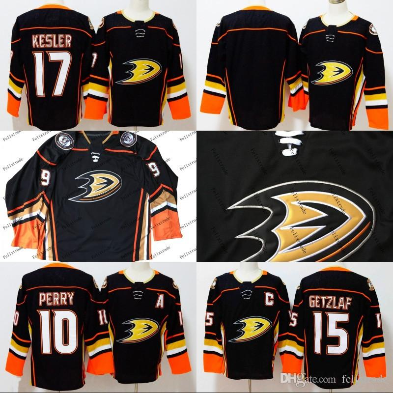 b91a8d940 2019 Anaheim Ducks 17 Ryan Kesler 10 Corey Perry 15 Ryan Getzlaf Blank 2017  18 Season All Stiched Hockey Jerseys For Men IN STOCK From Felixtrade