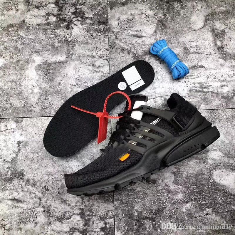 Shoes Sneaker Leather Mens Off Arriba Presto 2.0 Sports Running Black Shoes  Sneakers Para Calidad Auténtica Con Caja Original Y Aa3830 002 Trues Zip  Tie ... b54891bc00be9