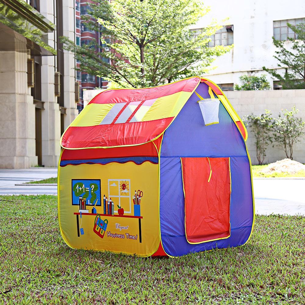 Kids Portable Cartoon Playhouse Toys Tent Children Indoor Outdoor ...