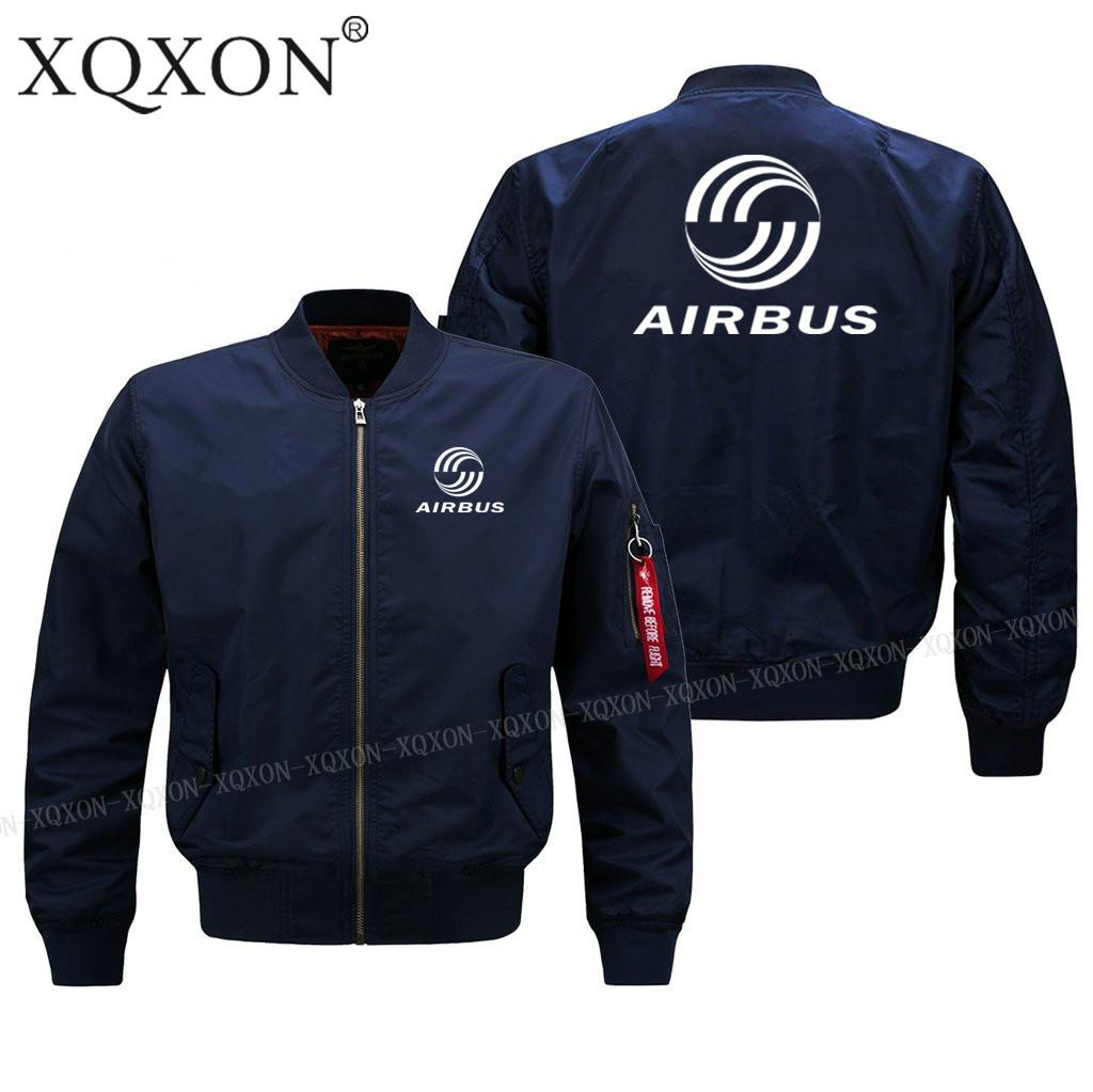 -2018 new men pilot jacket airbus Design High quality man Coats Jackets (Customizable) Spring fall winter clothe J69