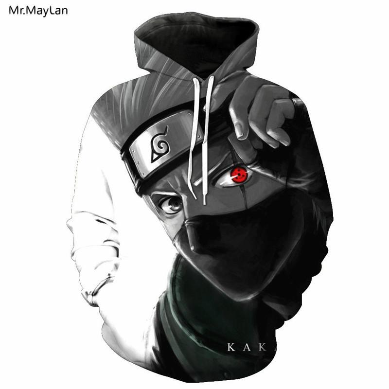 2018 mr.maylan 3d print red eye uzumaki naruto/sasuke anime hooded ...