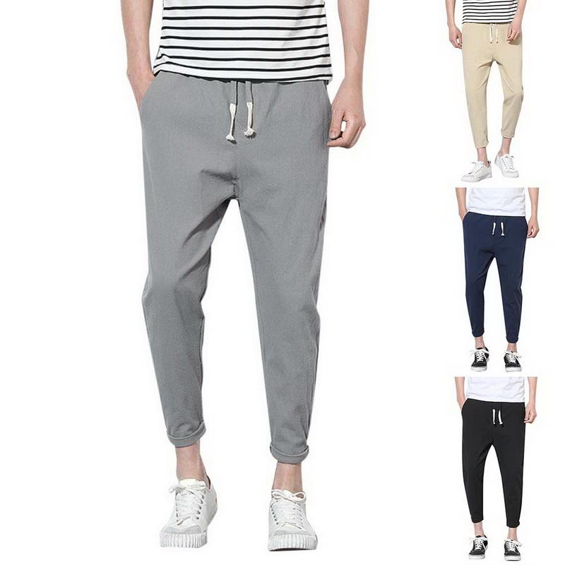 7c573ad2f9 2019 2018 Men Summer Harem Running Pants Loose Jogger Pants Sport Fitness  Trousers Male Gym Clothe Plus Size 4xl Streetwear From Pretty05, $21.31 |  DHgate.