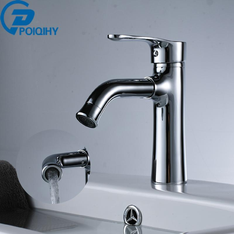 Bathroom Basin Faucet Water Power Basin Mixer Tap Chrome Brass Swivel Faucet  Brass Smart Wash Basin Faucets Cheap Basin Faucets Bathroom Basin Faucet  Water ...