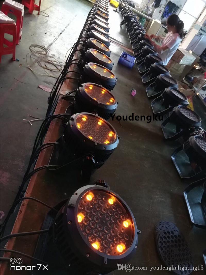 2 قطعة منتجات جديدة في سوق الصين Wateproof أدى 54 * 3W الاسمية الخفيفة Rgbaw بقيادة الاسمية الخفيفة