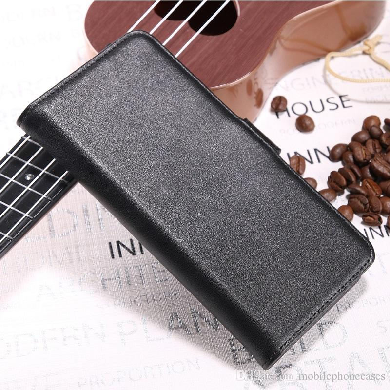 Genuine Leather Cases For Xiaomi Redmi5A Genius Leather Bookcover for Redmi5A case with cardslot heavy duty cover DHL