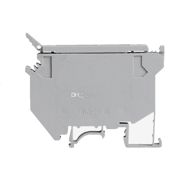 Contact Type UK 600VAC Morsetto componibile modulare grigio 4mm UK5-HESI