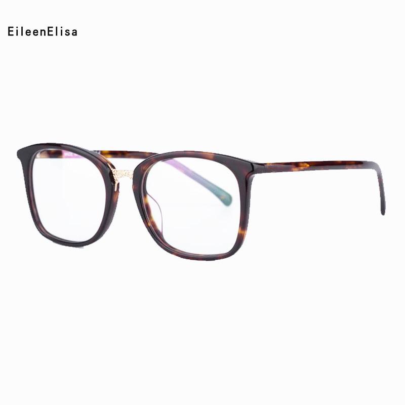 Compre 2018 EE Nova Chegada Do Vintage Feminino Quadrado Armações De Óculos  Miopia Óptica Óculos De Armação Material De Acetato Oculos De Grau Olho De  Vidro ... d8d0cc5cc7