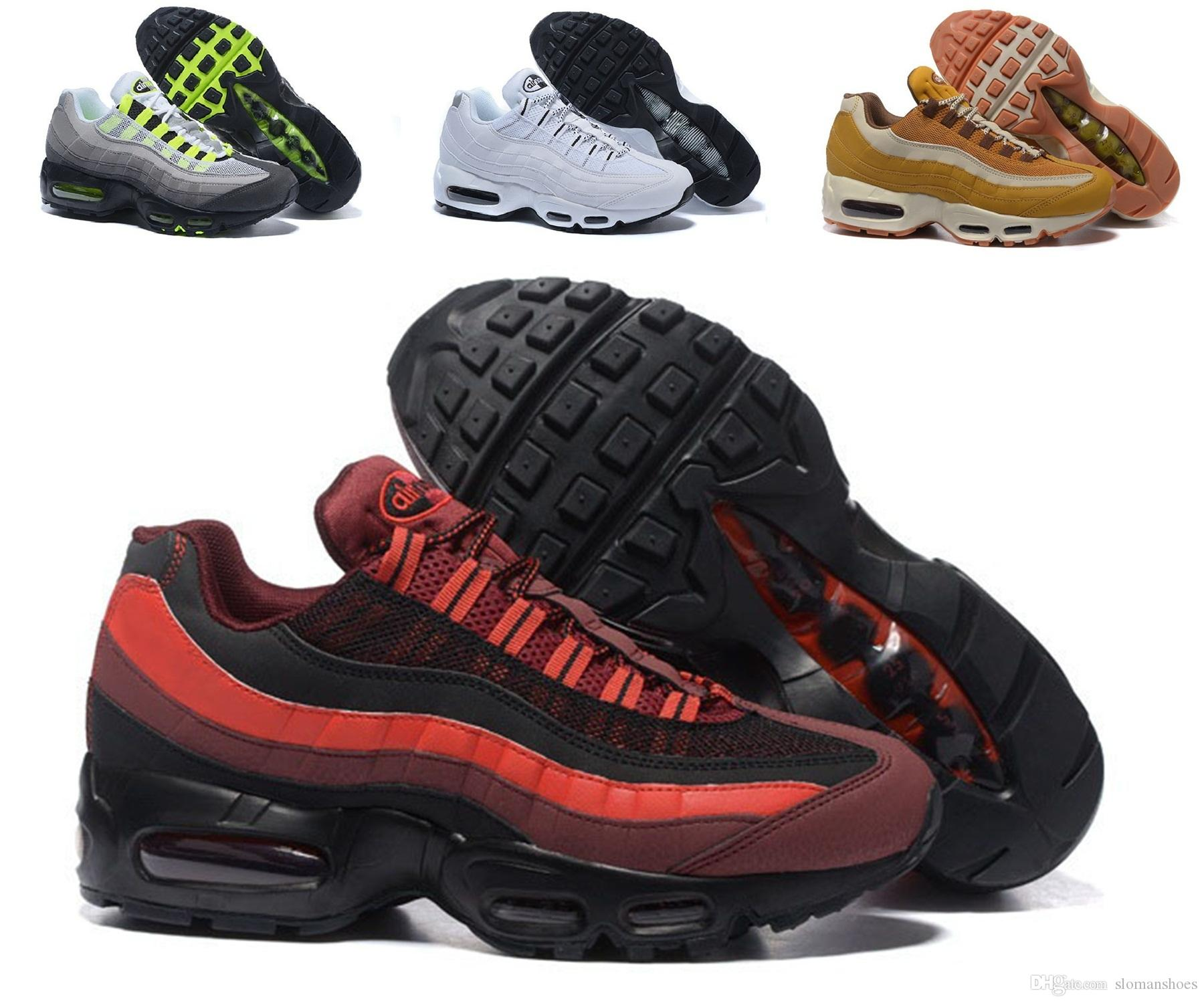 Wholesale!Men Air Cushion 95 Running Shoes Authentic Sports Shoes For Men Top Sneakers cheap price low shipping fee outlet great deals cheap sale fashionable clearance geniue stockist coNMlV