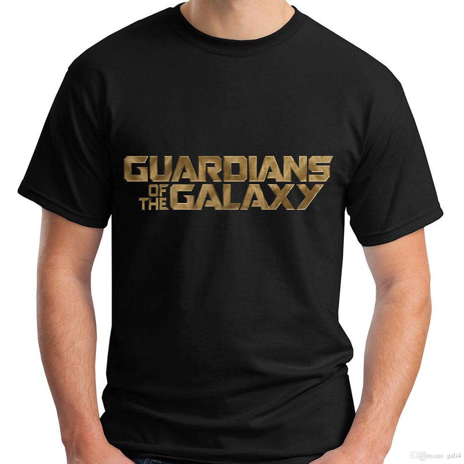 T-shirt manica corta uomo New Guardian of the Galaxy Black T-Shirt taglia S-5XL