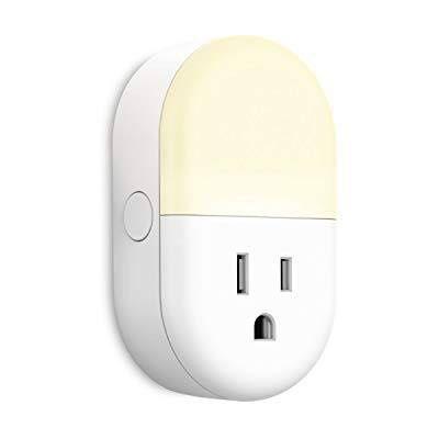Night Light Plug In Smart Plug Works With Alexa Google Assistant