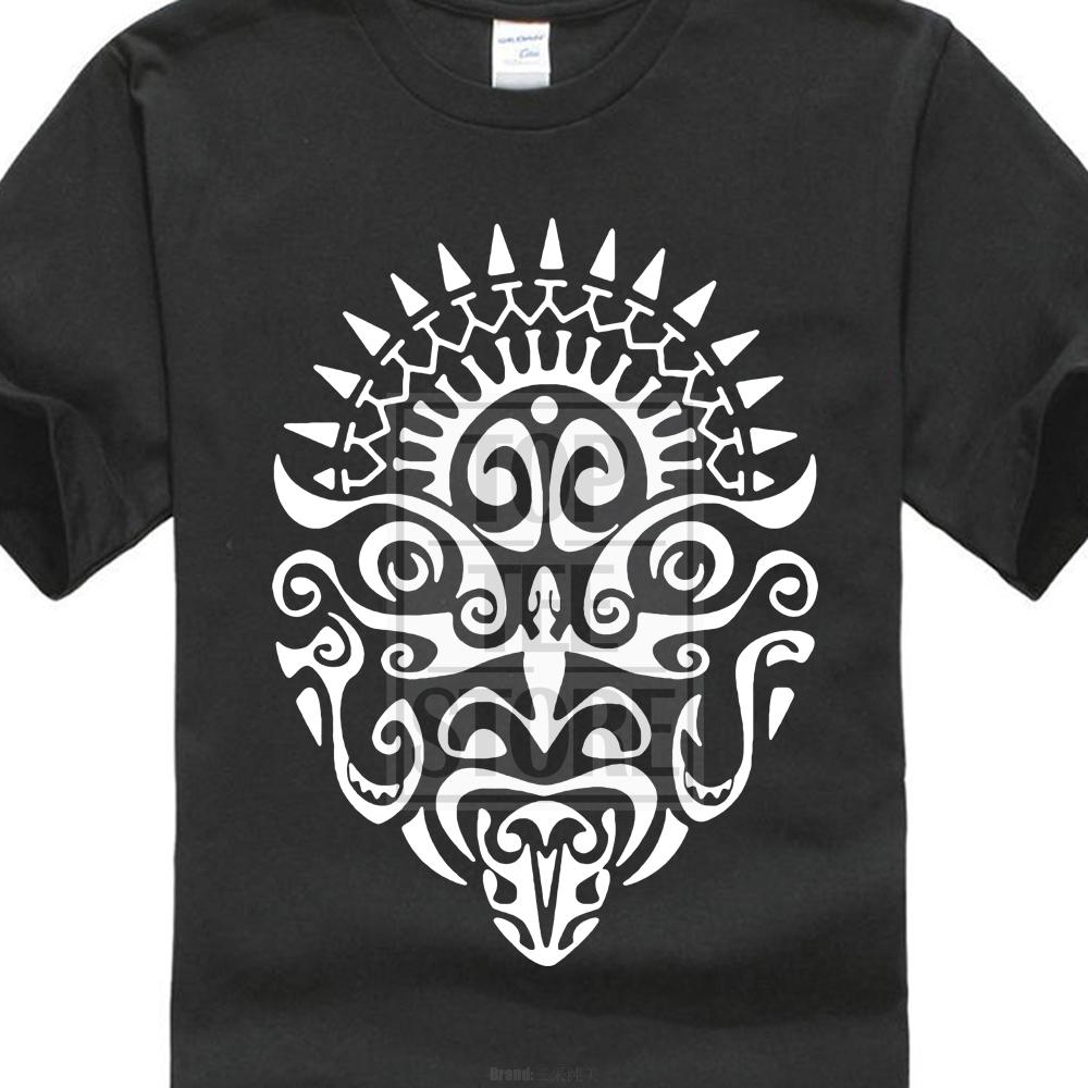 Nouveau t-shirt pour hommes de mode Maori Tattoo Face New Zealand Haka T-shirt Cool