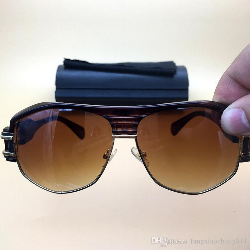 Großhandel Metall Vintage Sonnenbrillen 080 Bernstein Frame Brown ...