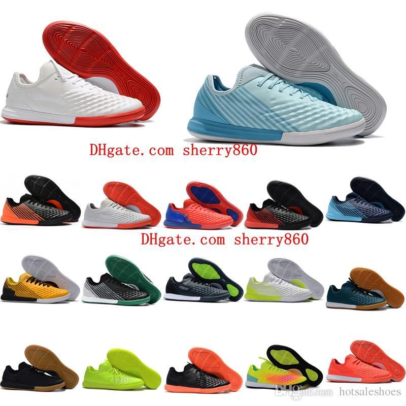 buy popular a7674 98dc4 Compre 2018 MagistaX Finale II IC Zapatos De Fútbol Indoor Magista X Futsal  Men Baratos Magista Obra Zapatillas De Fútbol Botas De Fútbol Originales  Para ...