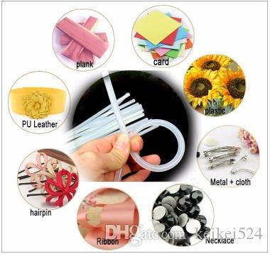 1000 Unids / lote 7mm x 10mm Hot Melt Pegamento Sticks Para Pistola de Pegamento Eléctrica Craft Album Herramientas de Reparación De Aleación Accesorios herramientas de bricolaje