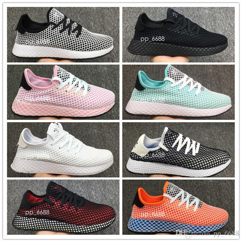 933796d52bc4 2018 DEERUPT RUNNER Shoes Pharrell Williams III Stan Smith Tennis HU KPU  Mesh Zapatos Trainers Chaussures Sneakers 36-44 Online with  98.21 Pair on  ...