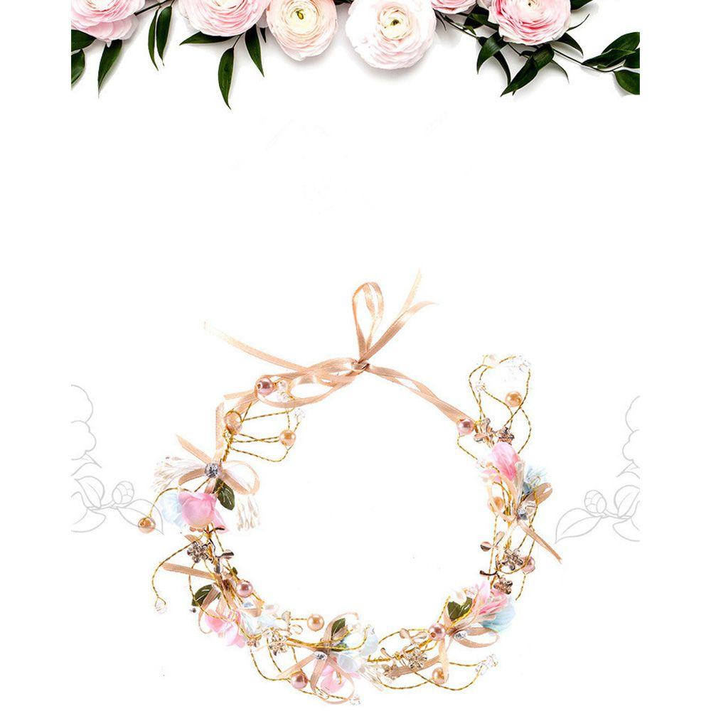 2018 Bridalwreath Children Wreath Flower Crown Flower Wreath Floral