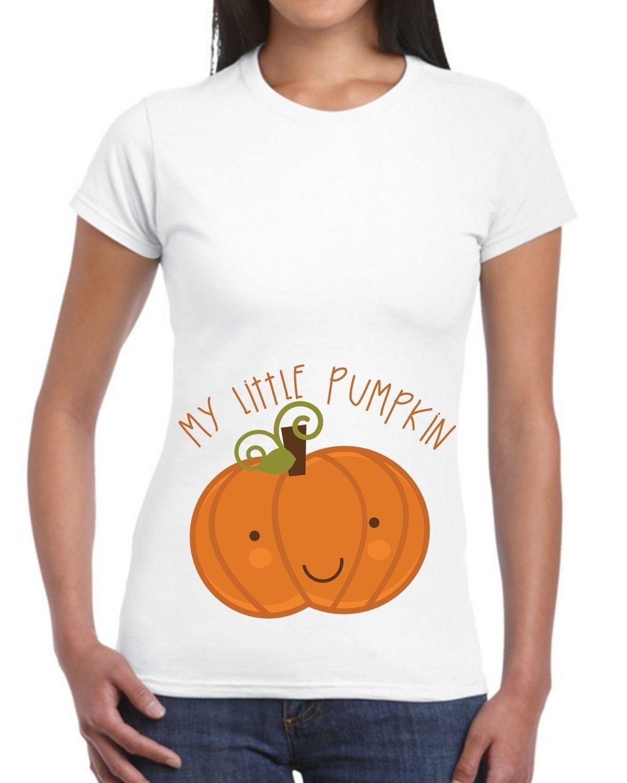 Compre Mi Pequeña Calabaza Blanca De Halloween Camiseta Embarazo Mamá De  Nacimiento Para Ser Linda Fancy Cool Casual Orgullo Camiseta De Los Hombres  Unisex ... 03e0b0fa4ea4b
