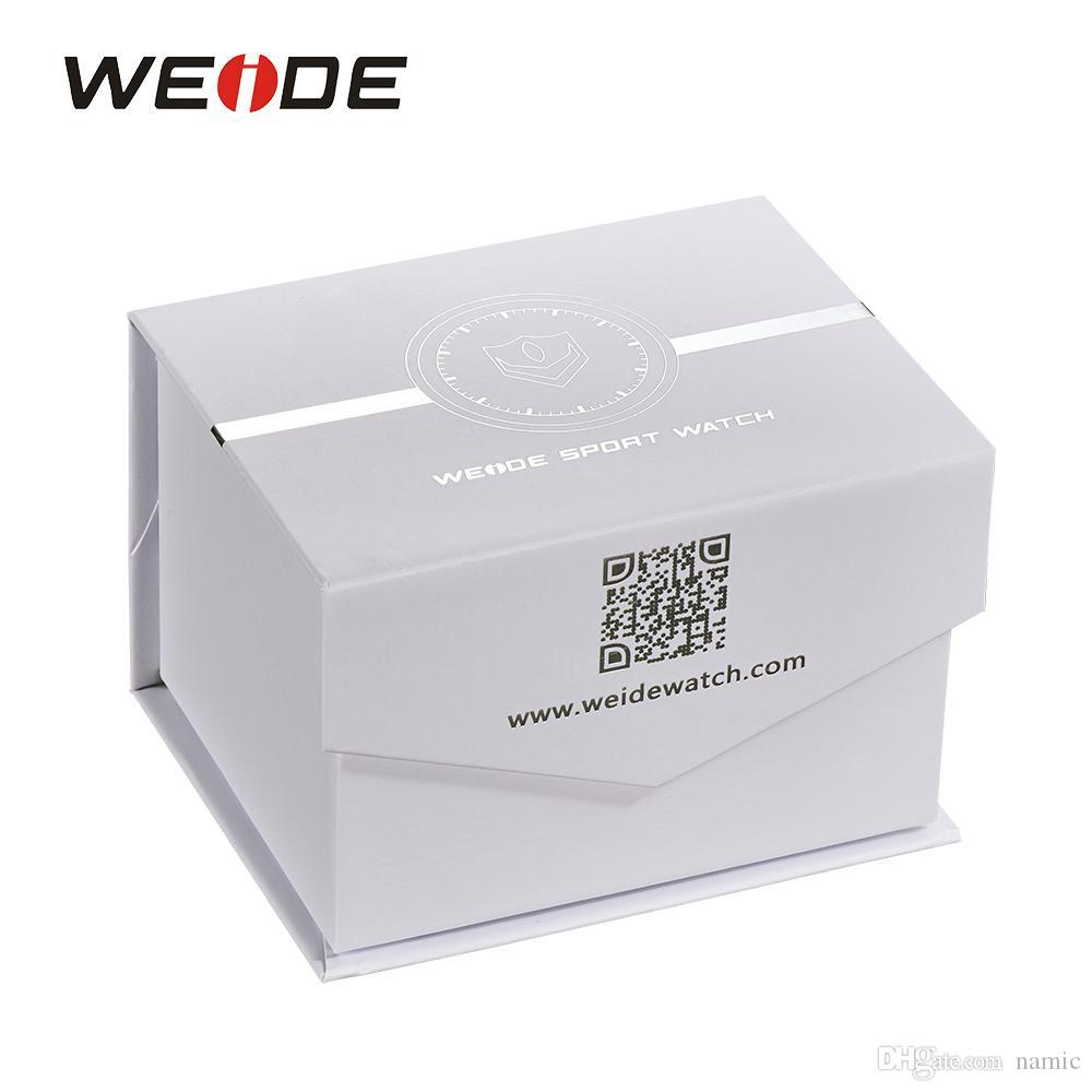 WEIDE Original Brand Paper Gift Box For Women & Men Watches Rectangle Shaped Fashion Protection Gift Boxes