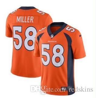 Von Miller Jersey Chris Harris Jr Courtland Sutton Denver Broncos Team  Color American Football Jerseys Women Men Youth Kids Von Miller Jersey  Denver Broncos ... 3eca86a447be