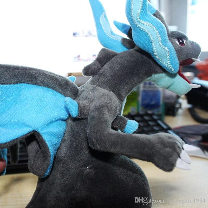 23 cm de juguetes de felpa dragón Monster X rellenó el regalo de los niños Mega Evolución Y Charizard juguetes de peluche muñeca suave