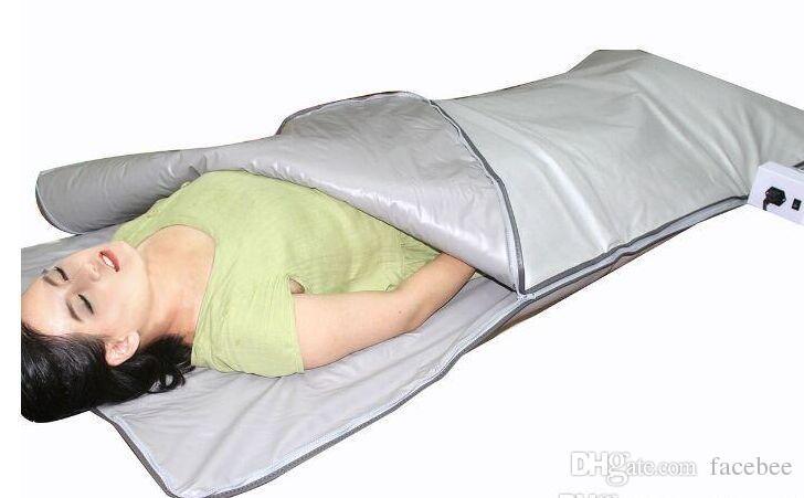 sauna térmica cobertor terapia aquecimento infravermelho cobertor quente máquina de emagrecimento corpo