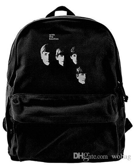 9c6265195af The Beatles Fashion Canvas Shoulder Backpack For Men   Women Teens College  Travel Daypack Designer Backpack Duffle Bag Bag Backpack Designer Handbags  Online ...