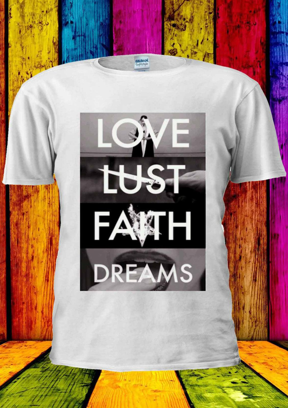 137083b7e Love Lust Faith Dreams Meaningful T Shirt Vest Tank Top Men Women Unisex  1003 Tee Shirt For Sale Worlds Funniest T Shirts From Moviethirt, $11.17|  DHgate.
