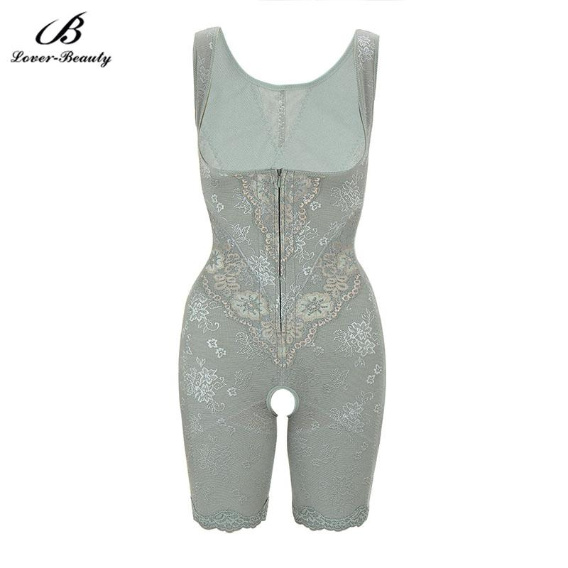 1851e5d32e3 Lover Beauty Underwear Body Shaper Bodysuit Chest Lift Corset Floral Zip  Closure Bodysuit Tummy Control Postpartum Recovery-B Online with   64.99 Piece on ...
