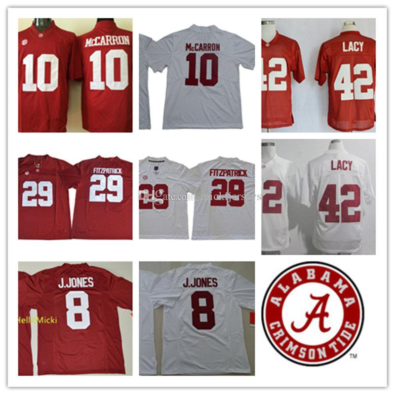 360c9be52 Mens NCAA Alabama Crimson Tide Julio Jones College Football Jerseys Minkah  Fitzpatrick Eddie Lacy AJ McCarron Alabama Crimson Tide Jersey AJ McCarron  Minkah ...
