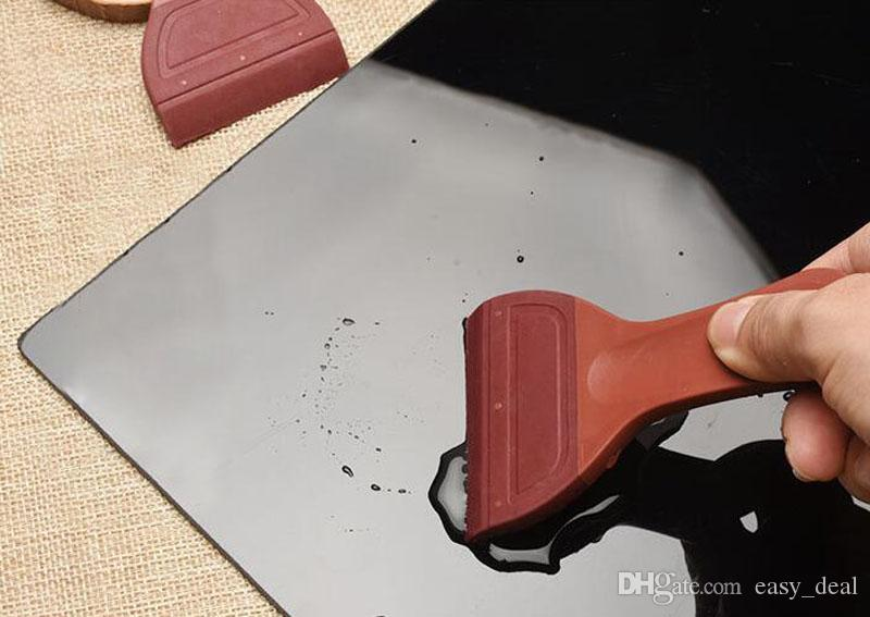 Gummi Kunststoff Tee Pinsel Kongfu Tee Set Reinigung Reiniger Tee Blatt Tablett Wasser Pinsel Geschirr liefert QW7030