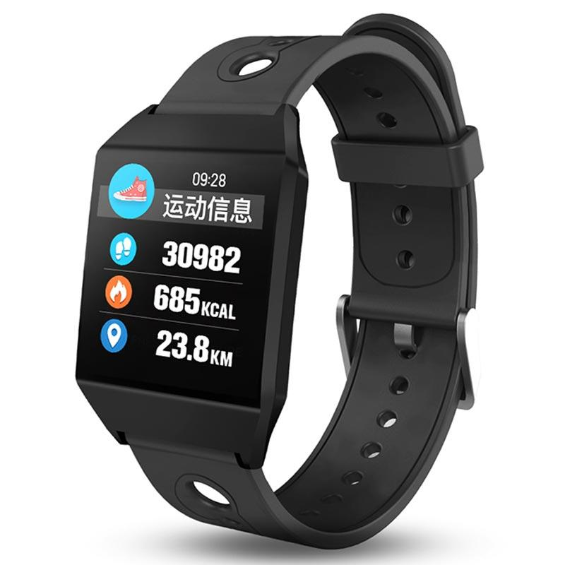 Lover's Watches Smart Men Temperature Running Sport Watch Multi-function Woman Students Pedometer Digital Electronic Silicone Wristband Watches For Fast Shipping