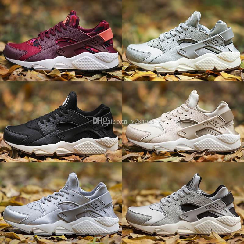 1b530c9e415d 2018 New Air Huarache Ultra Running Shoes For Men Women