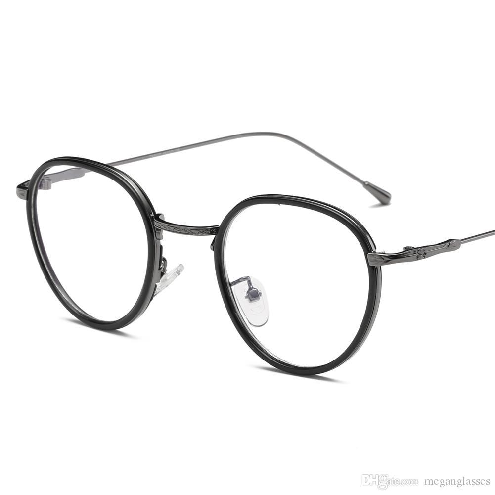 Großhandel Mode Retro Designer Brillen Rahmen Vintage Runde Brillen ...