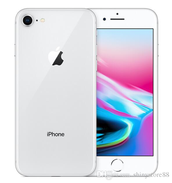 100% Original Apple Iphone 8 8 Plus ohne Fingerabdruck 64 GB / 256 GB 12.0MP iOS 12 Generalüberholtes Mobiltelefon