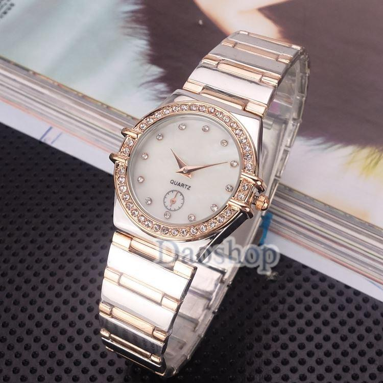 2018 Luxury Women Gold Watch Brands Crystal Dial Fashion Design