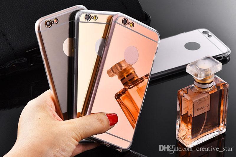 Spiegel Bestellen 6 : Handyhülle bestellen neue arten galvanisierte spiegel tpu
