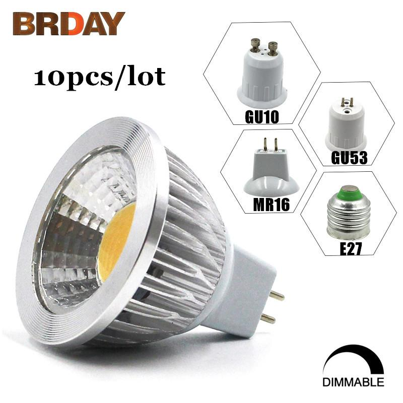 Gu 5 3 : 10x high power lampada led mr16 gu5 3 cob 9w 12w 15w dimmable led cob spotlight warm cool white ~ Buech-reservation.com Haus und Dekorationen