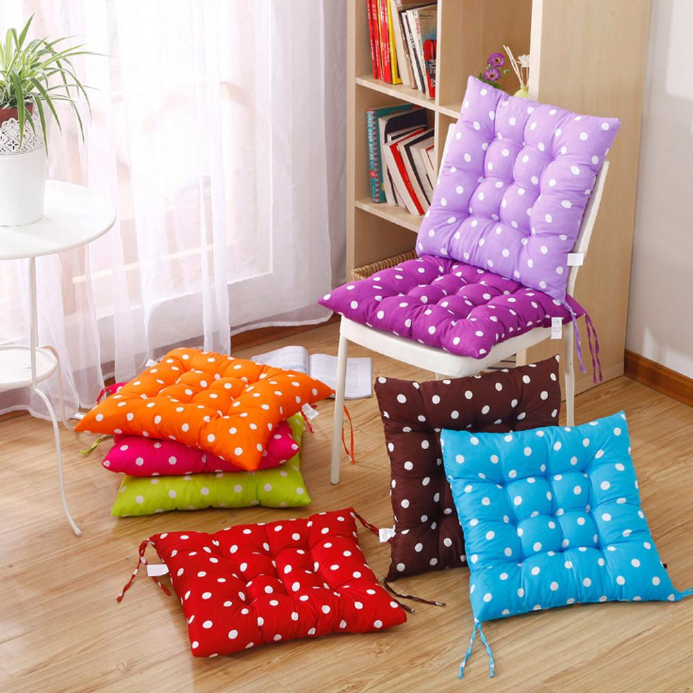 Outdoor Seat Cushions Square Pillow Polka Dot Chair Cushion Decorative Pillow  Patio Chair Cushions Seat Cushion Home Decor Outdoor Patio Cushions Outdoor  ...