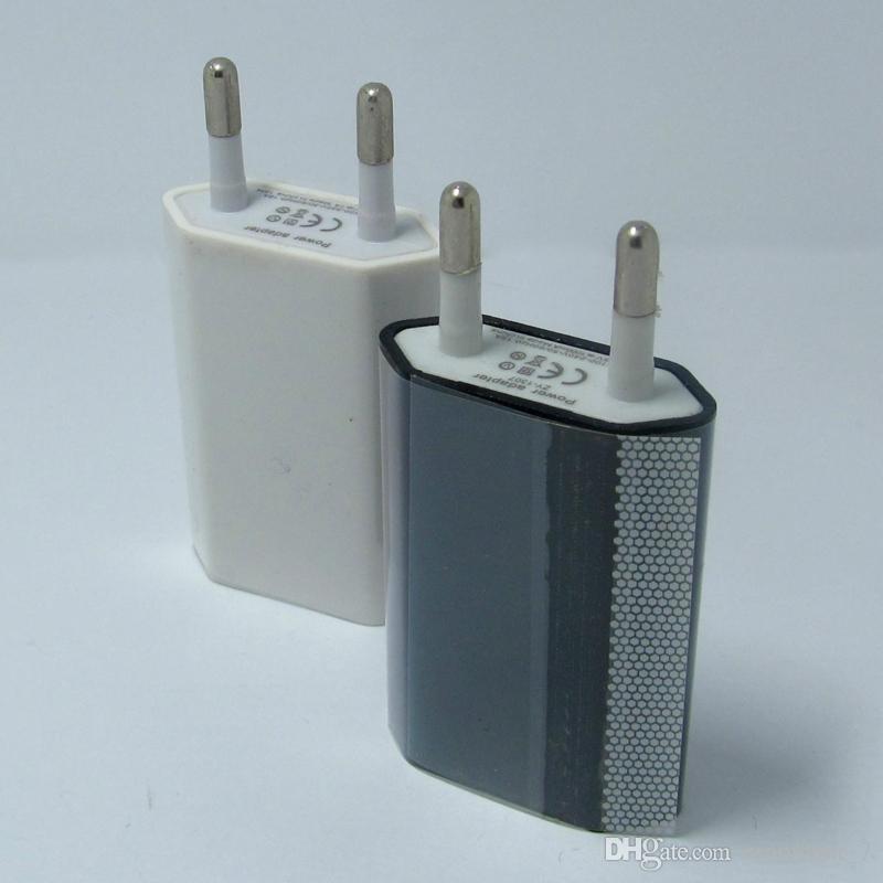 Adaptador de corriente de la pared del enchufe 5V 1A del teléfono del viaje del USB del cargador del teléfono USB para el iPhone para el iPad para Sumsung Xiaomi Huawei