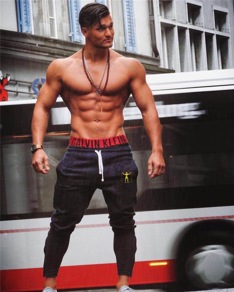 Bodybuilding Workout Großhandel Jogginghose Jogger Gym Männer 1nw4WBA